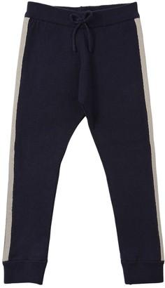 Chloé Wool & Cotton Knit Pants