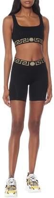 Versace Stretch-jersey sports bra