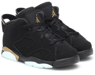 Nike Kids Air Jordan 6 Retro suede sneakers