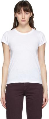 Rag & Bone White The Slub T-Shirt