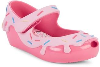 Mini Melissa Baby's, Little, & Girl's Donut Sprinkle Flats