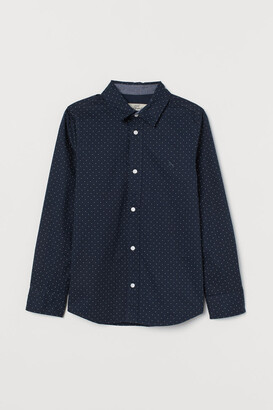 H&M Cotton Shirt - Blue