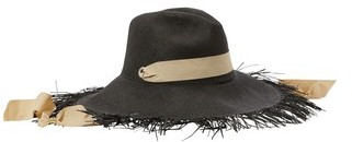 Sensi Straw hat with ribbon