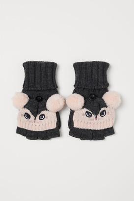 H&M Mittens/Fingerless Gloves - Gray