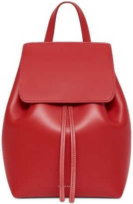 Mansur Gavriel Calf Mini Backpack - Flamma