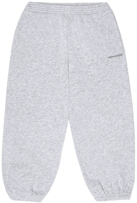 Balenciaga Kids Logo cotton-jersey trackpants