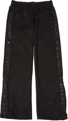 Givenchy LOGO SIDE BANDS TECHNO SWEATPANTS