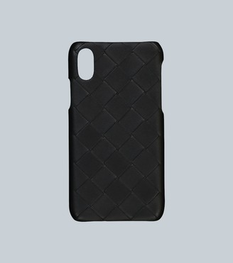 Bottega Veneta Leather iPhone XS cover