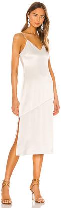 Alice + Olivia Kayla Seamed Slip Dress