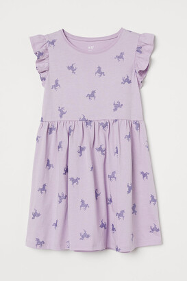 H&M Jersey Dress - Purple