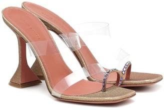 Amina Muaddi Exclusive to Mytheresa Sami PVC sandals