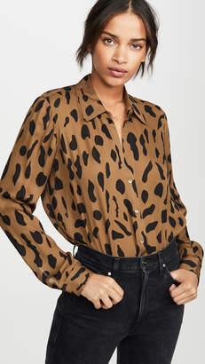 L'Agence Nina Long Sleeve Blouse