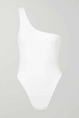 MYRA Rhodes One-shoulder Swimsuit - White