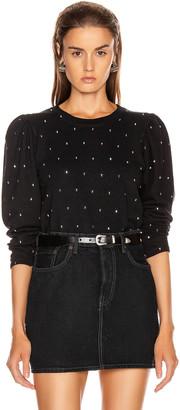 A.L.C. Saunders Sweatshirt in Black   FWRD