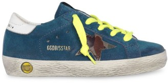 Golden Goose Baby's, Little Boy's & Boy's Storm Leather Superstar Sneakers