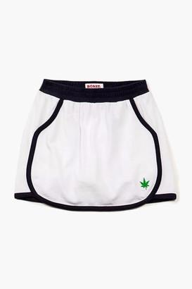For Tots Girls' Trimmed Pique Skirt