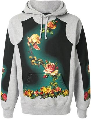 Jean Paul Gaultier x Floral Print Hoodie