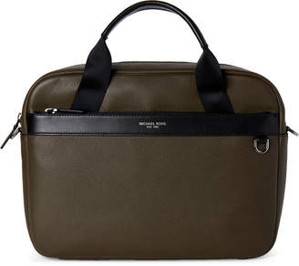 Michael Kors Olive Greyson Laptop Slim Briefcase