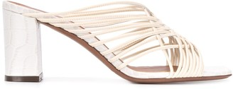 L'Autre Chose multi-strap open-toe mules