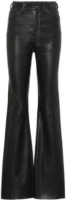 Rag & Bone Jane high-rise flared leather pants