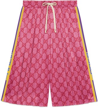 Gucci GG technical jersey shorts