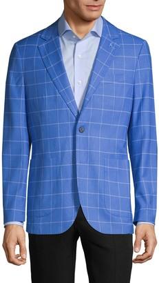 Tailorbyrd Standard-Fit Windowpane Jacket