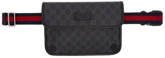 Gucci Black GG Belt Bag