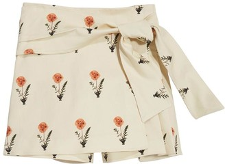 Oscar de la Renta Canvas Skirt