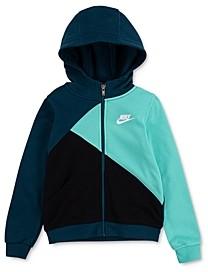 Nike Boys' Amplify Colorblocked Hooded Jacket - Little Kid