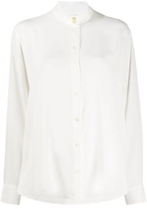 Paul Smith Mandarin collar loose-fit shirt