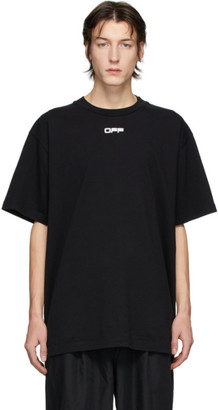 Off-White Black Airport Tape T-Shirt
