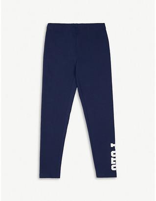 Ralph Lauren Logo print cotton leggings