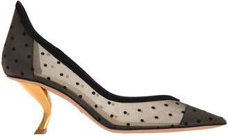 Christian Dior D-sculpture Pumps In Dotted Swiss Tulle