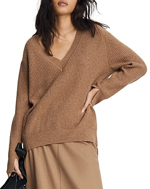 Rag & Bone Pierce Cashmere V Neck Sweater