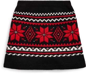 Ralph Lauren Fair Isle Sweater Skirt