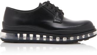 Prada Leather Derby Shoe