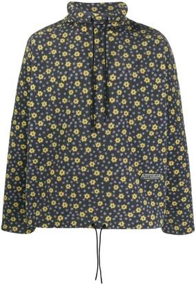 Martine Rose Floral Print Fleece Sweatshirt