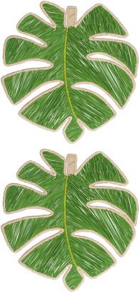Mercedes Salazar Set Of 2 Leaf Placemat