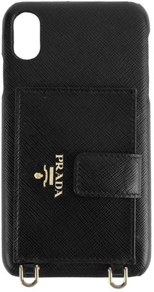 Prada iPhone XS Max Leather Phone Case