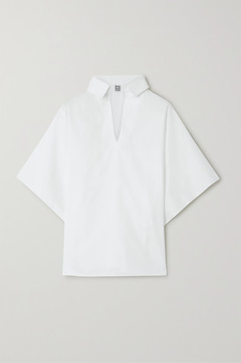 Totême Liry Cotton-poplin Shirt - White