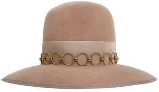Zimmermann Round Crown Felted Hat