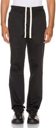Acne Studios Paco Satin Trousers in Black | FWRD