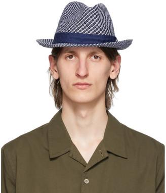 Paul Smith Navy Trilby Hat