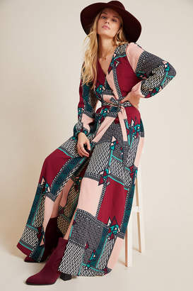 Porridge Virginia Wrap Maxi Dress