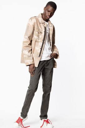 Zadig & Voltaire David Coated Jeans