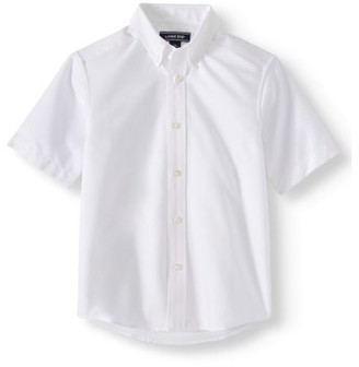 Lands' End Boys 4-20 School Uniform Short Sleeve Oxford Shirt Shirt