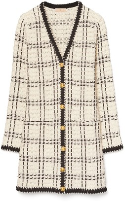 Tory Burch Kendra Tweed Coat