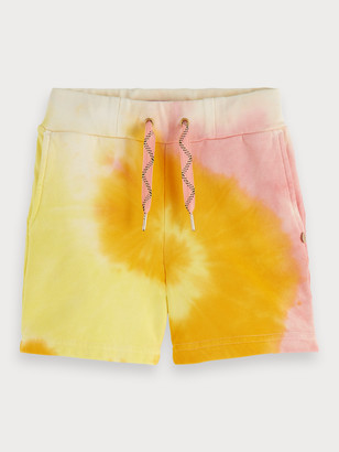Scotch & Soda Tie Dye Sweat Shorts   Girls