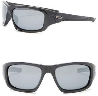 Oakley Valve Polarized 60mm Wrap Sunglasses