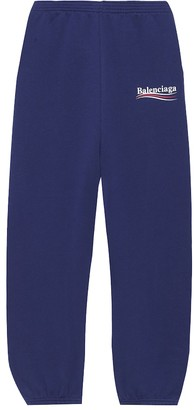 Balenciaga Kids Cotton-blend trackpants